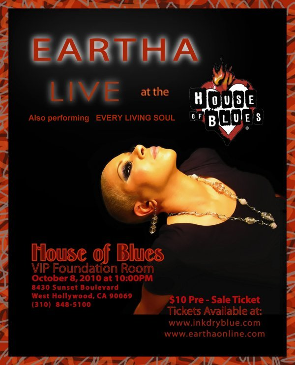 EARTHA at House Of Blues