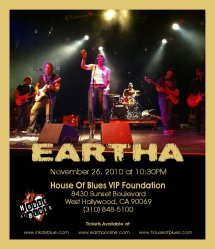 Link to EARTHA House Of Blues Flyer