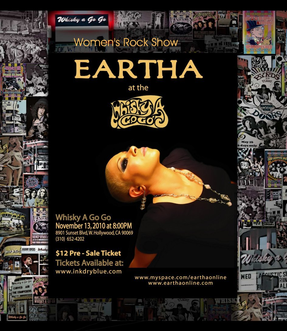 Link to Eartha at Whisky A Go Go in November 2010
