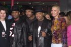 RUN DMC and EARTHA at induction celebration in Hollywood