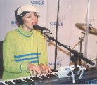 EARTHA performs for Sirius Radio in New York City