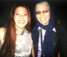 Stephanie Lopez and EARTHA at J Record�s After Party in New York